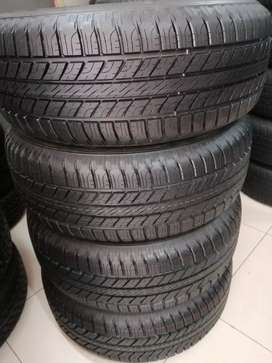 A set of brand new Good Year tyres 265/65R17