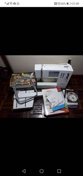 Artista 180 sewing machine with embroidery unit