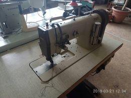 Швейная машинка двухигольная