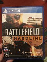 Продам гру на рs4 battlefield hardline