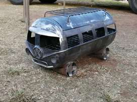 WE BUILD VW COMBI BRAAIS