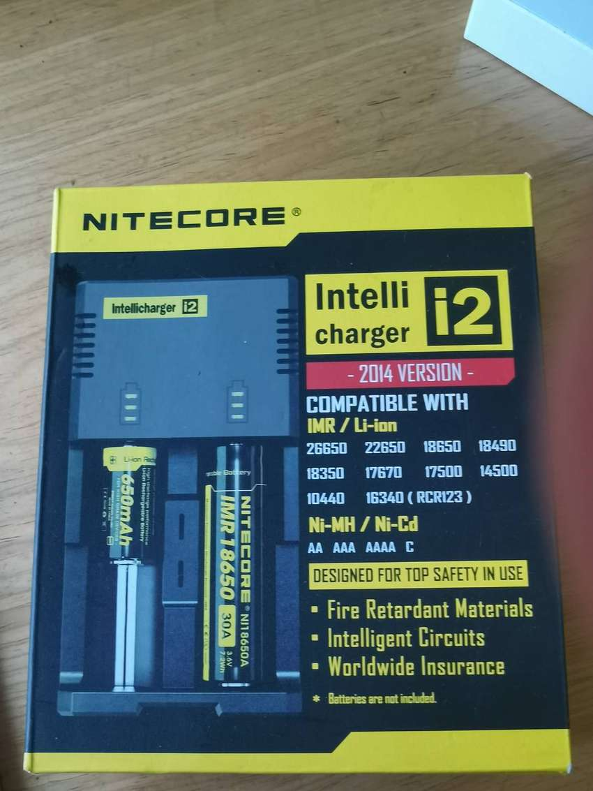 Nitecore charger and battery