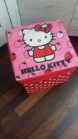 Pufa siedzisko Hello Kitty