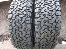Two new bfgoodrich ko2 sizes 265/65/18 now available