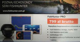 bezprzewodowa echosonda wędkarska nowość Lowrance Fishhunter PRO