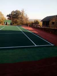 Image of tennis courts/netball courts