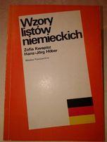 Z.Kwapisz, H.J.Hober Wzory listów niemieckich