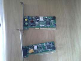 pci dial up modem's  R50 each got plenty in stock