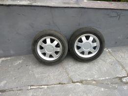 Opony letnie r13 DOBRY STAN + FELGI! Aluminiowe
