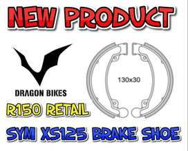 Sym XS125K brake shoes