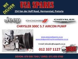 CHRYSLER 300C 5.7 USED REPLACEMENT AIRCON PUMP FOR SALE