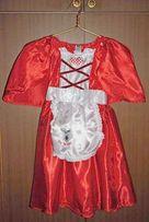 Платье Красной Шапочки на 6-8 лет