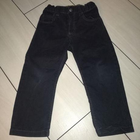 Czarne spodnie 98 firmy H&M Zielona Góra - image 1