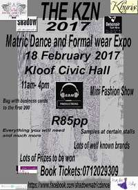 Image of The Matric Dance and formal wear expo kzn 2017