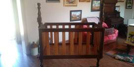 SolidWood Baby Cot
