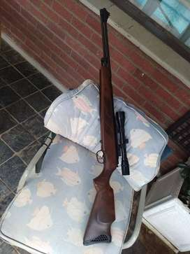 Air Rifle Hatsan Torpedo 155  as new with scope