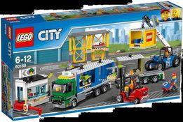 Lego 60169 terminal towarowy+ gratisy, idealny, nowy