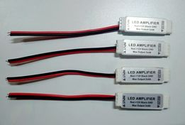 Компактный мини усилитель для RGB светодиодных лент 12A (4А) на канал