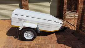 Road Buddy 5 foot trailer by Karet