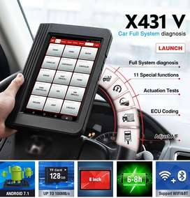 LAUNCH X431 V 8 Full System Diagnostic-Tool Support Actuation Test, EC