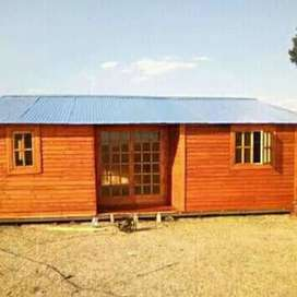 Cabin   houses  for  sell