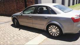 Audi A4 140kw 6 speed Red T