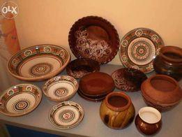 глиняная тарелка СССР