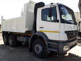 2007 Mercedes Benz Axor 10C Tipper