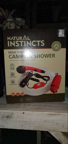 Camping Shower & Adapter
