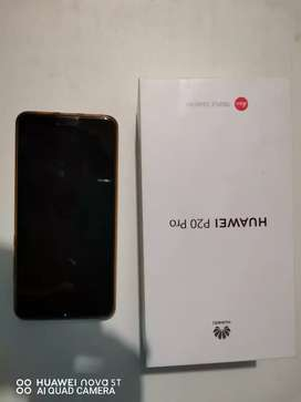 Huawei P 20 pro newly condition