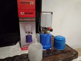 Gas camping light combo for sale