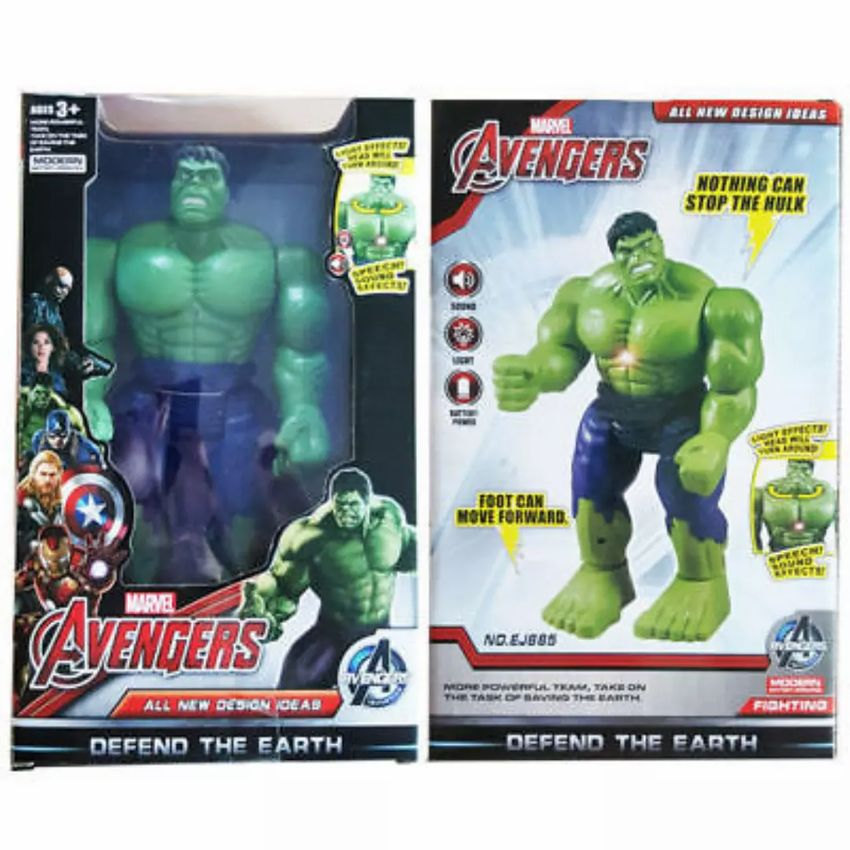 Avengers Hulk a Iron man 0