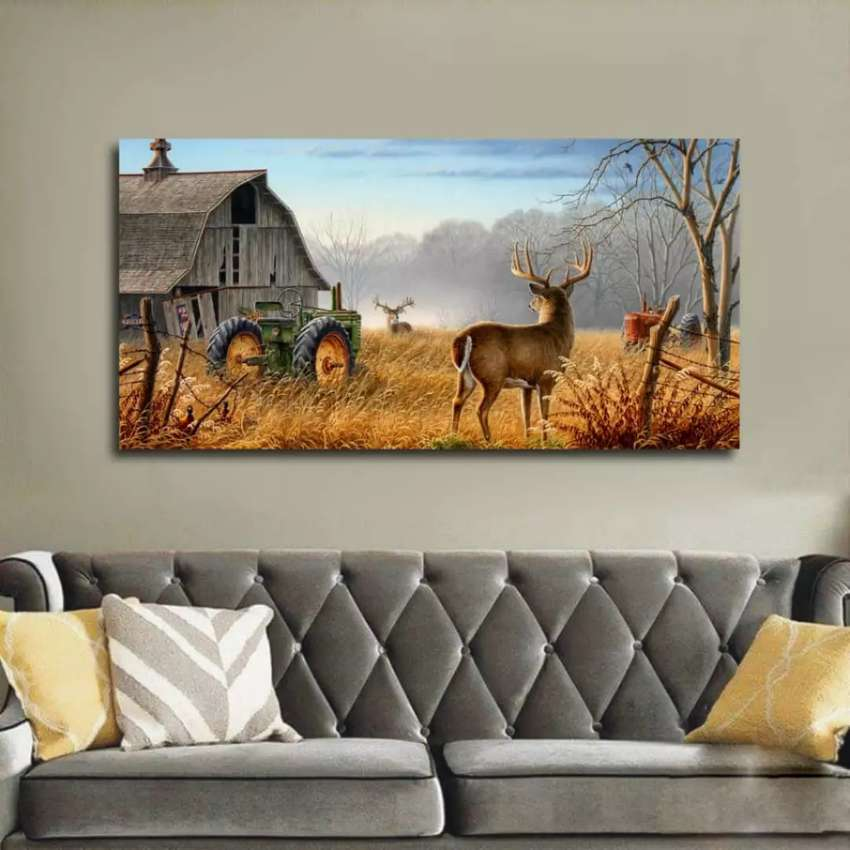 Wall canvas frames arts is one panel 0