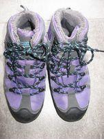 ocieplane buty trekkingowe dziewczęce firmy Mountain Warehouse