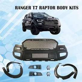 Ford Ranger Raptor Style Front Bumper Face-lift Body Kits for T7 2016-