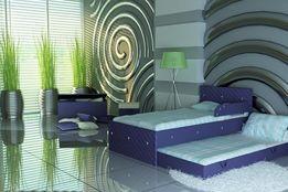 Łóżko dla dziecka piętrowe,przepiękne kryształki,łóżko dziecięce,Skóra