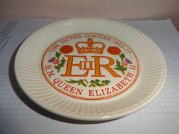 Тарелка блюдце декоративное фарфор Wedgwood
