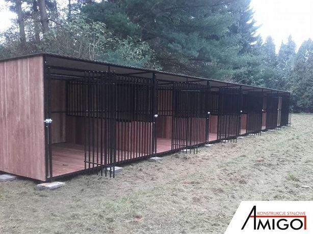 Kojec dla psa kojce klatki dla zwierząt mocna konstrukcja Świdnica - image 4