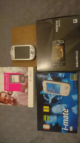 Vintage PDA phones and a Nokia
