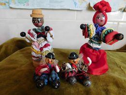 куклы клоуны. одним лотом