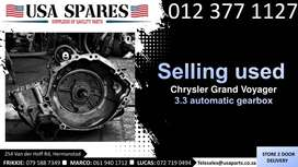 Chrysler Grand Voyager 3.3* 1999-03 used automatic gearbox for sale
