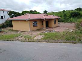 3bed 2bath House with lounge, kitchen & garage is up for rent.