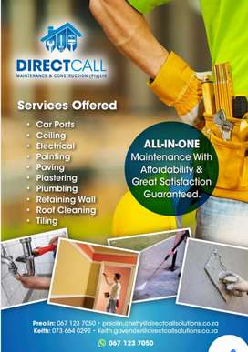 DIRECT CALL MAINTENANCE AND CONSTRUCTION