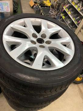 """18"""" 5/114 mags and tyres"""