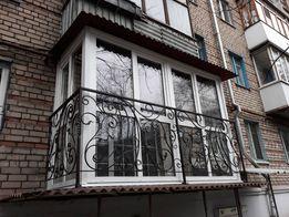 Балкон под Ключ. Самые доступные цены! Расширение, утепление, окна.
