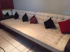Solid Wood Designer Couch