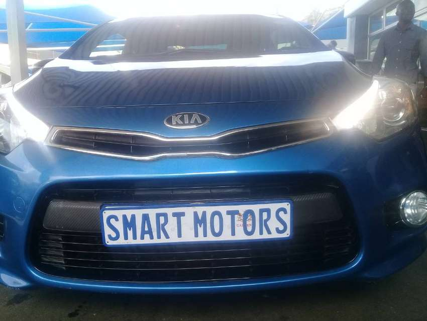 KIA CERATO KOUP 1.6 TURBO AUTOMATIC with sunroof 0