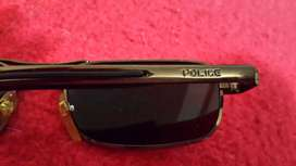 Police Sunglasses + Sifiso 24k Gold Plated Flyglasses