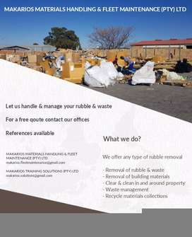 Rubble & waste removal