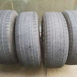 Wanli Cross 245/70/16 tyres X 4
